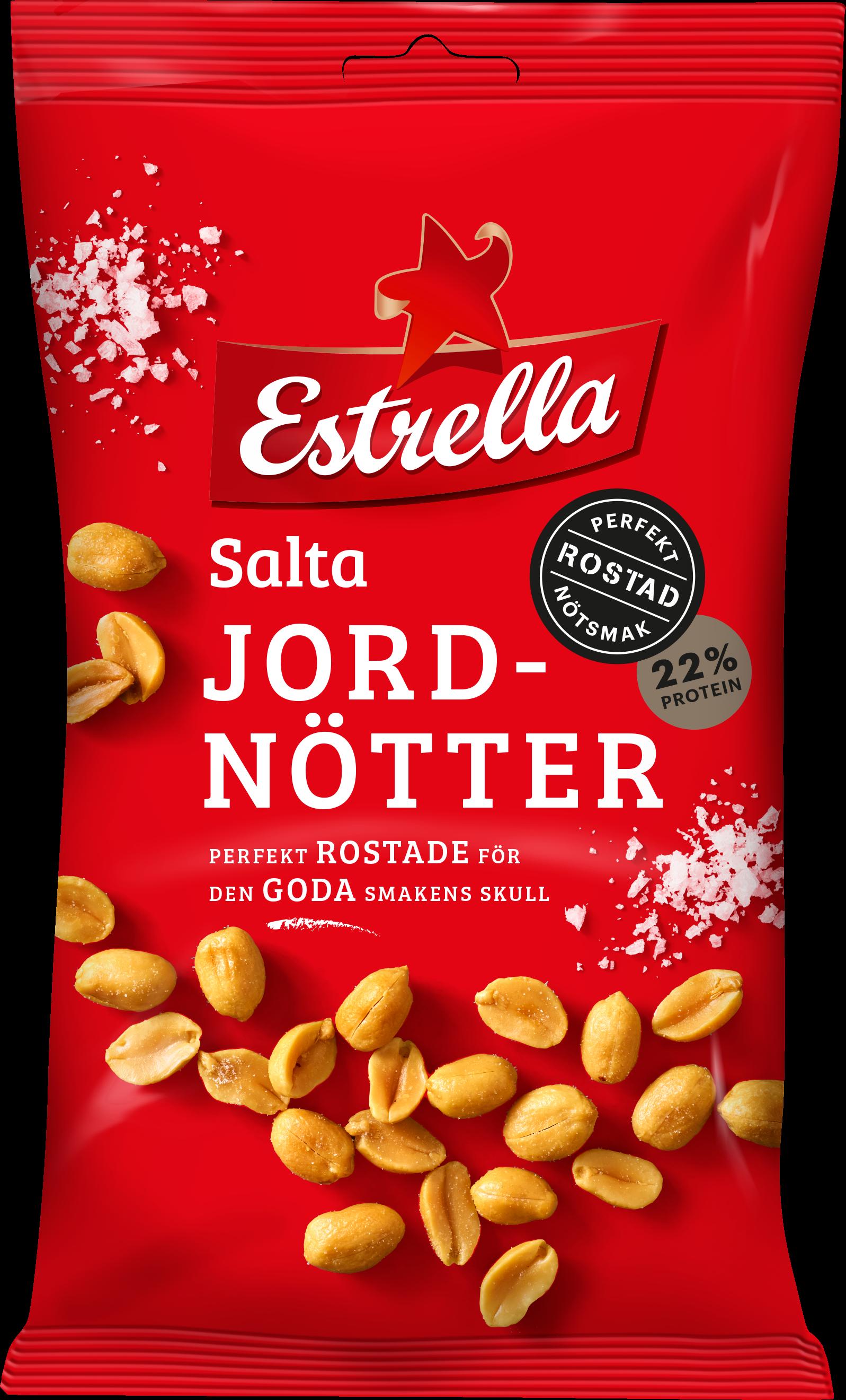 salta jordnötter näringsinnehåll